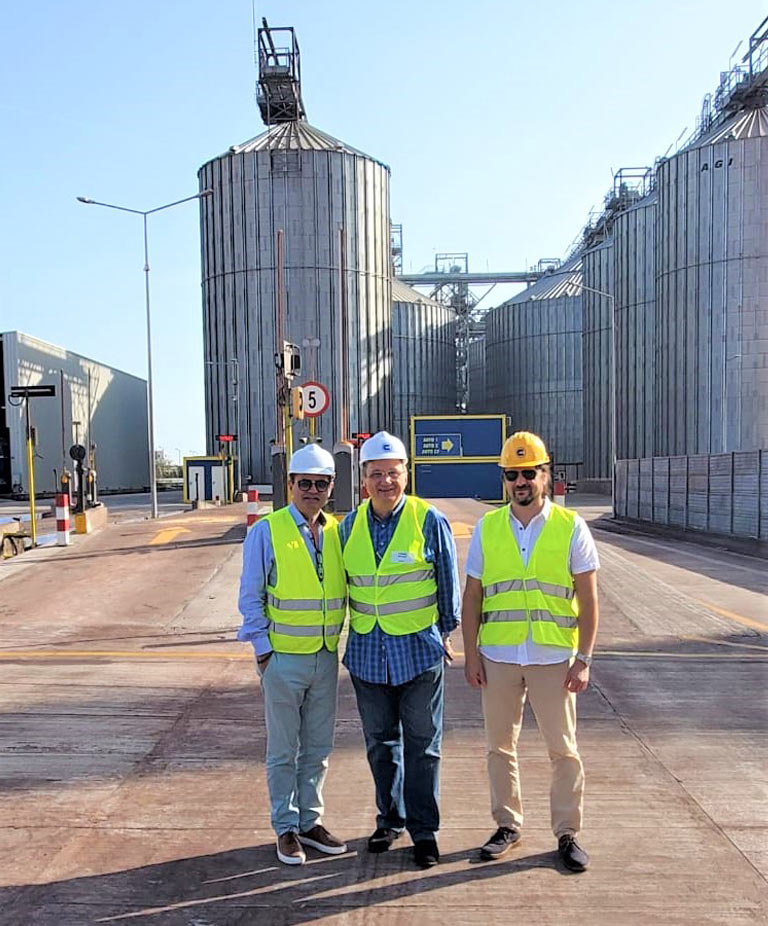 RABC President Visits the Fastest Commodity Loading Terminal in Europe