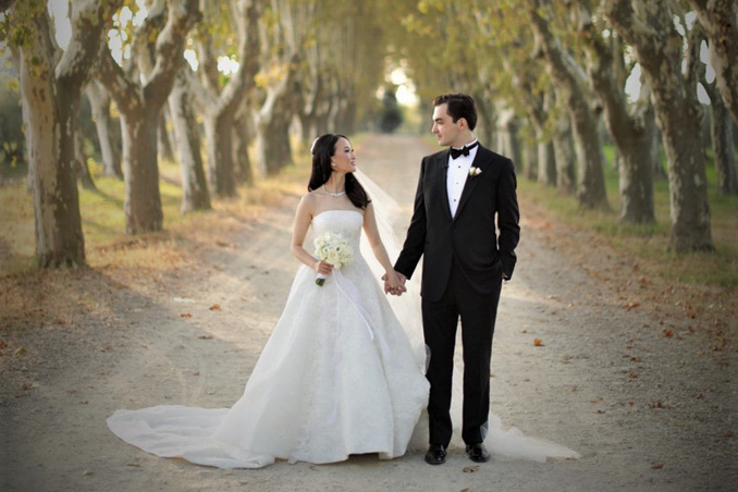 Cosmin Panait, distinguished and celebrated RABC member ties the knot in Provence