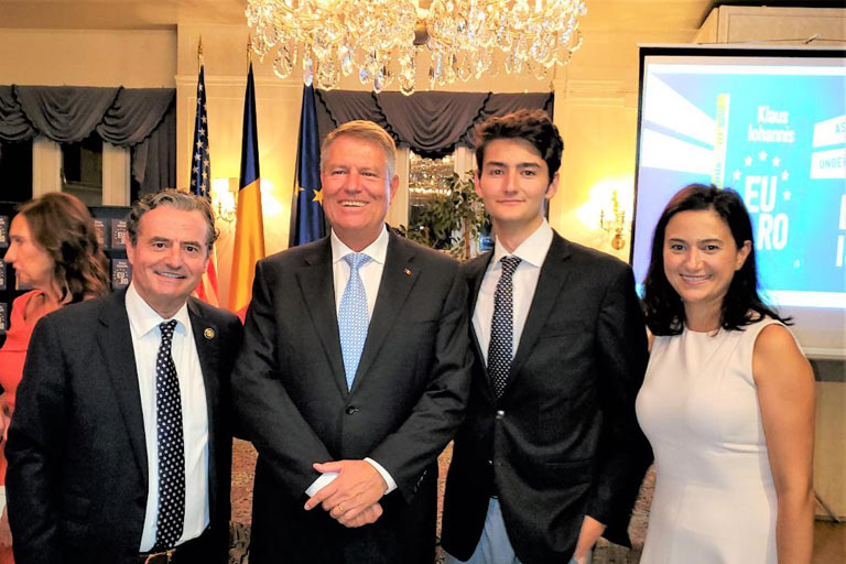Meeting with the Current and Next President of Romania