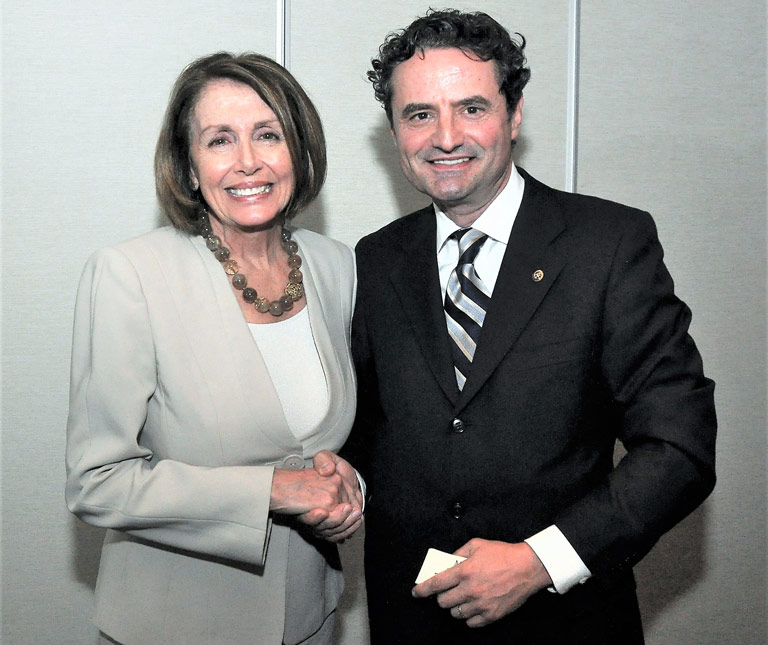 Best Wishes for House Speaker Nancy Pelosi on Her Reelection
