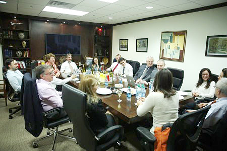 RABC - February Board Meeting, New York