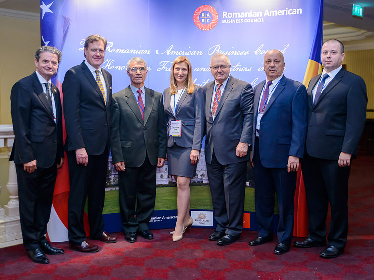RABC Reception Honoring Eleven Distinguished Members of the United States Congress in  Bucharest