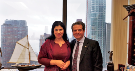 Meeting with the The Romanian Cultural Institute Leadership, New York
