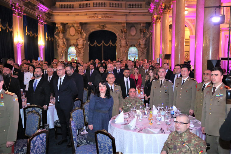 RABC Honors US and Romanian Veterans during emotional Bucharest Gala